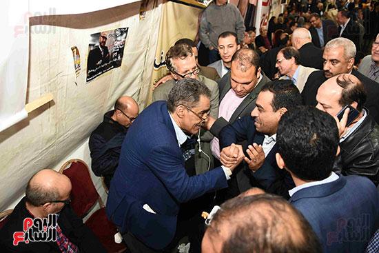 انتصار  ضياء رشوان بمنصب نقيب الصحفيين (11)
