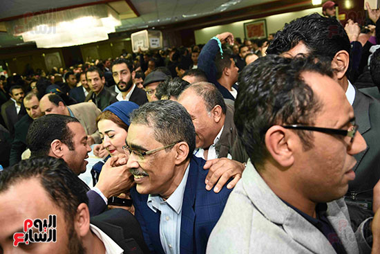 فوز ضياء رشوان بمنصب نقيب الصحفيين (23)