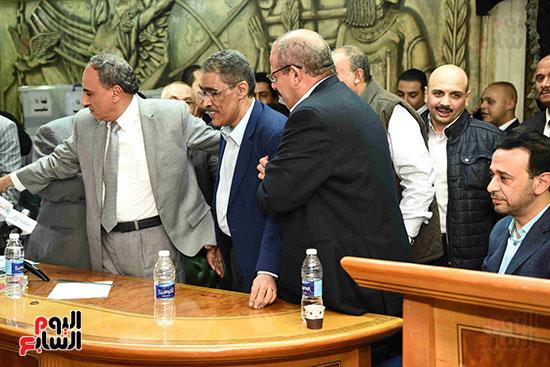 انتصار  ضياء رشوان بمنصب نقيب الصحفيين (33)