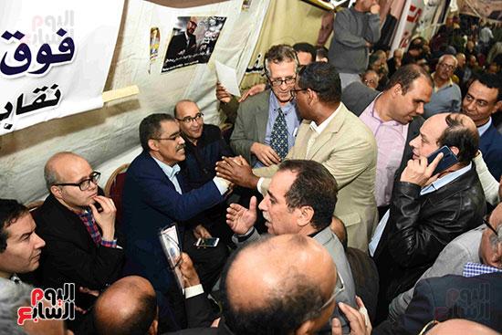 انتصار  ضياء رشوان بمنصب نقيب الصحفيين (9)