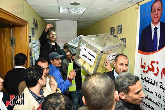 فرز انتخابات نقابة الصحفيين (3)