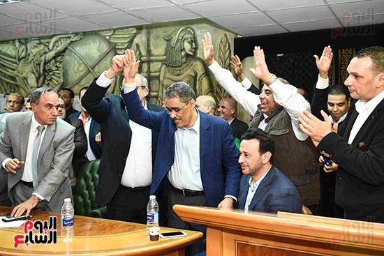 انتصار  ضياء رشوان بمنصب نقيب الصحفيين (27)