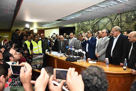 انتصار  ضياء رشوان بمنصب نقيب الصحفيين (37)