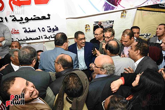 انتصار  ضياء رشوان بمنصب نقيب الصحفيين (1)