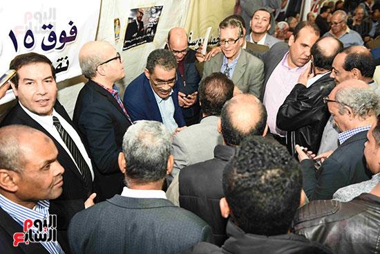 انتصار  ضياء رشوان بمنصب نقيب الصحفيين (5)
