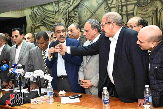 فوز ضياء رشوان بمنصب نقيب الصحفيين (35)
