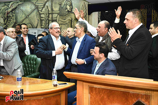 فوز ضياء رشوان بمنصب نقيب الصحفيين (26)