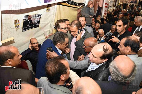 انتصار  ضياء رشوان بمنصب نقيب الصحفيين (10)