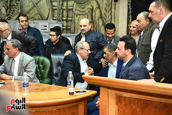 فوز ضياء رشوان بمنصب نقيب الصحفيين (25)