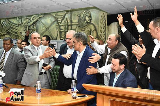 انتصار  ضياء رشوان بمنصب نقيب الصحفيين (28)