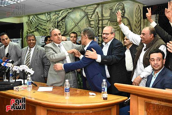 انتصار  ضياء رشوان بمنصب نقيب الصحفيين (30)