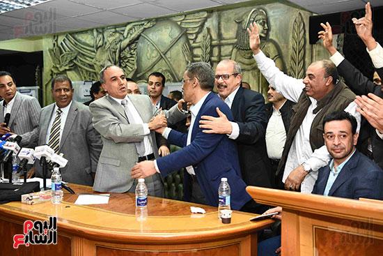 فوز ضياء رشوان بمنصب نقيب الصحفيين (29)