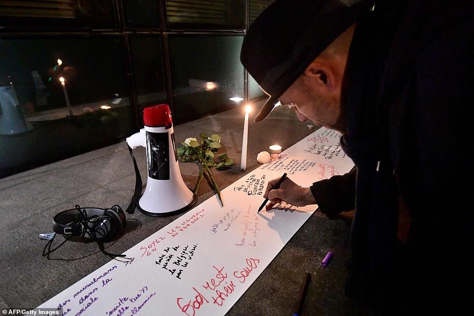 احتجاجات فى عواصم العالم ضم الحادث الإرهابى فى نيوزيلندا (3)