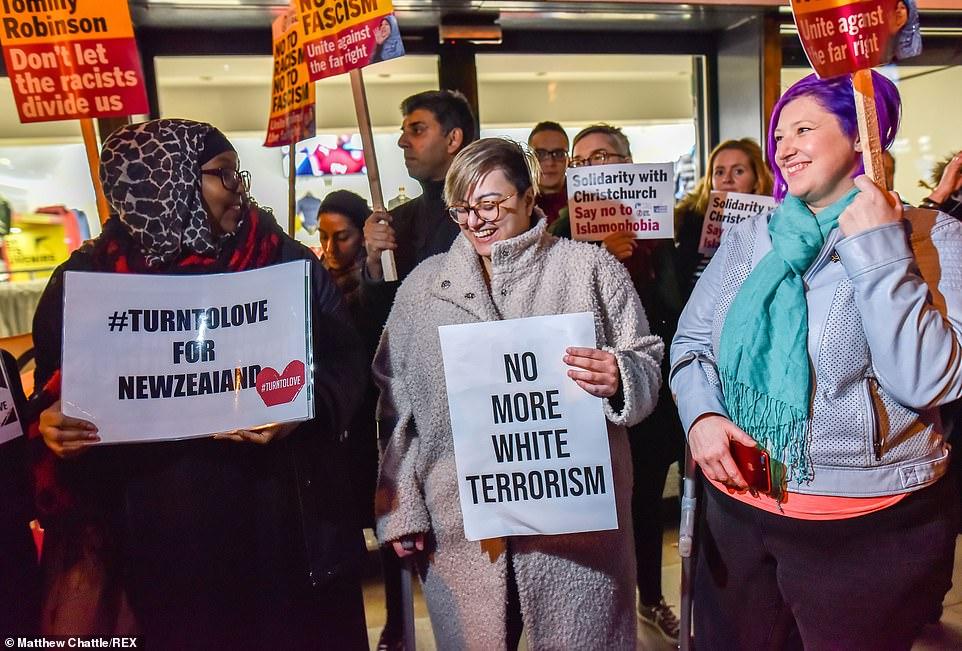 احتجاجات فى عواصم العالم ضم الحادث الإرهابى فى نيوزيلندا (4)