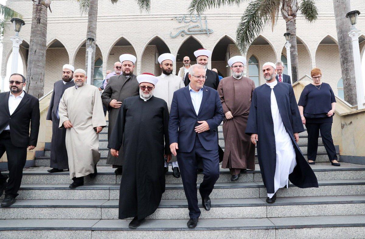 رئيس وزراء استراليا يلتقى قادة الجالية الإسلامية فى بلاده