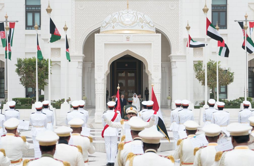 مراسم استقبال رسمية للرئيس الأفغانى