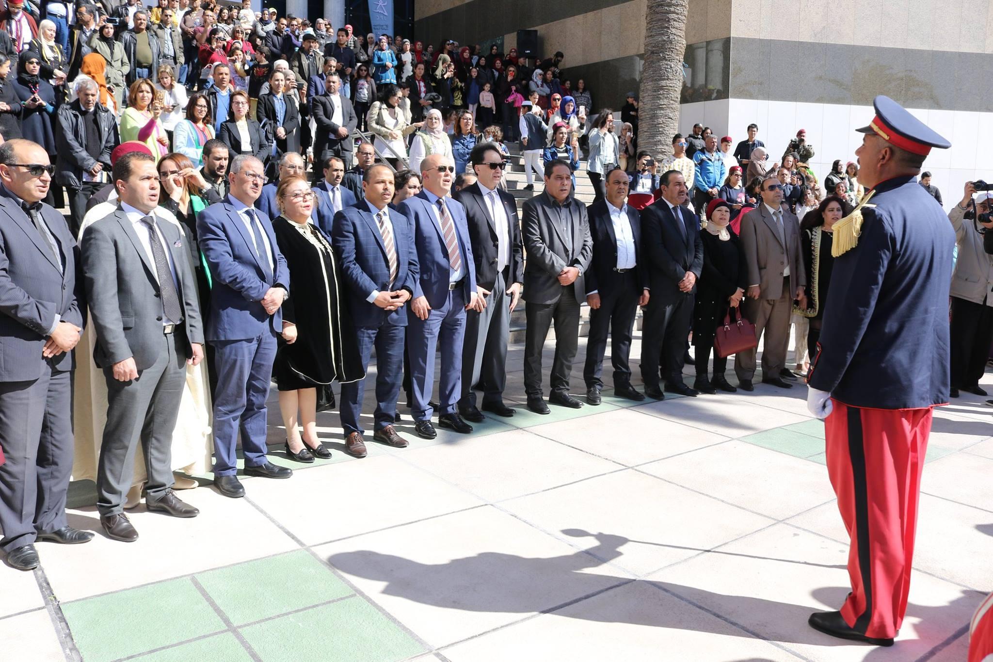 وزير الثقافة التونسى فى تظاهرة أيام منوبة فى مدينة الثقافة (6)
