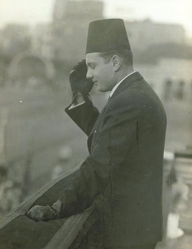 الملك يحى الجماهير سنة 1936