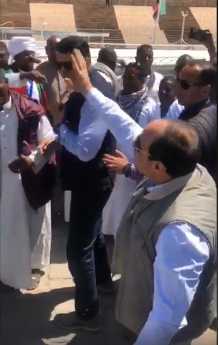 الرئيس السيسى مع أهالى محافظة أسوان