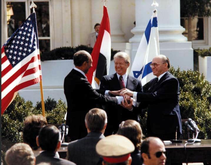 توقيع معاهدة كامب ديفيد
