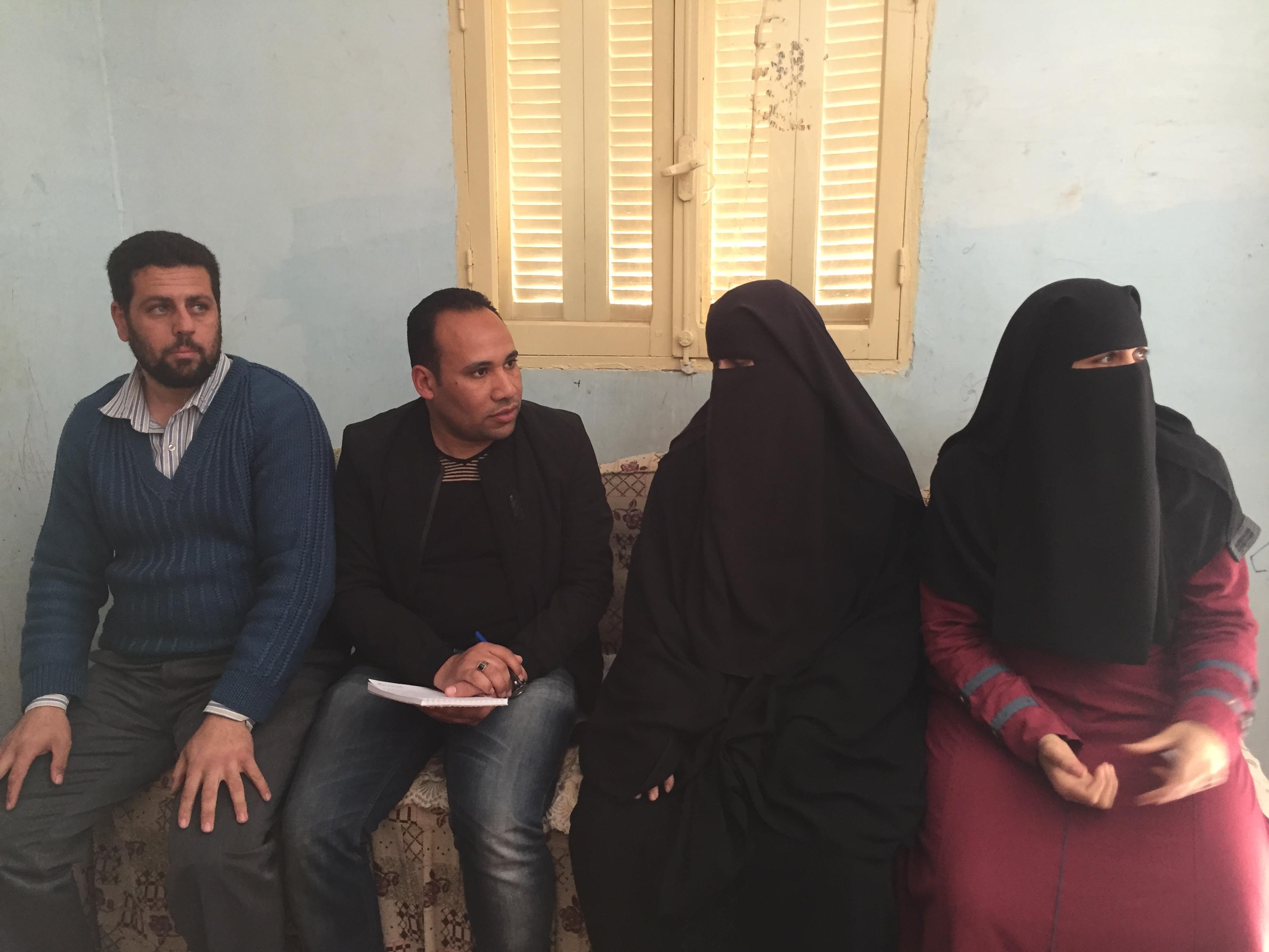 الحاجة حنان حسن  مسلم حسن، الفائزة بالأم المثالية على مستوى محافظة الإسماعيلية (7)