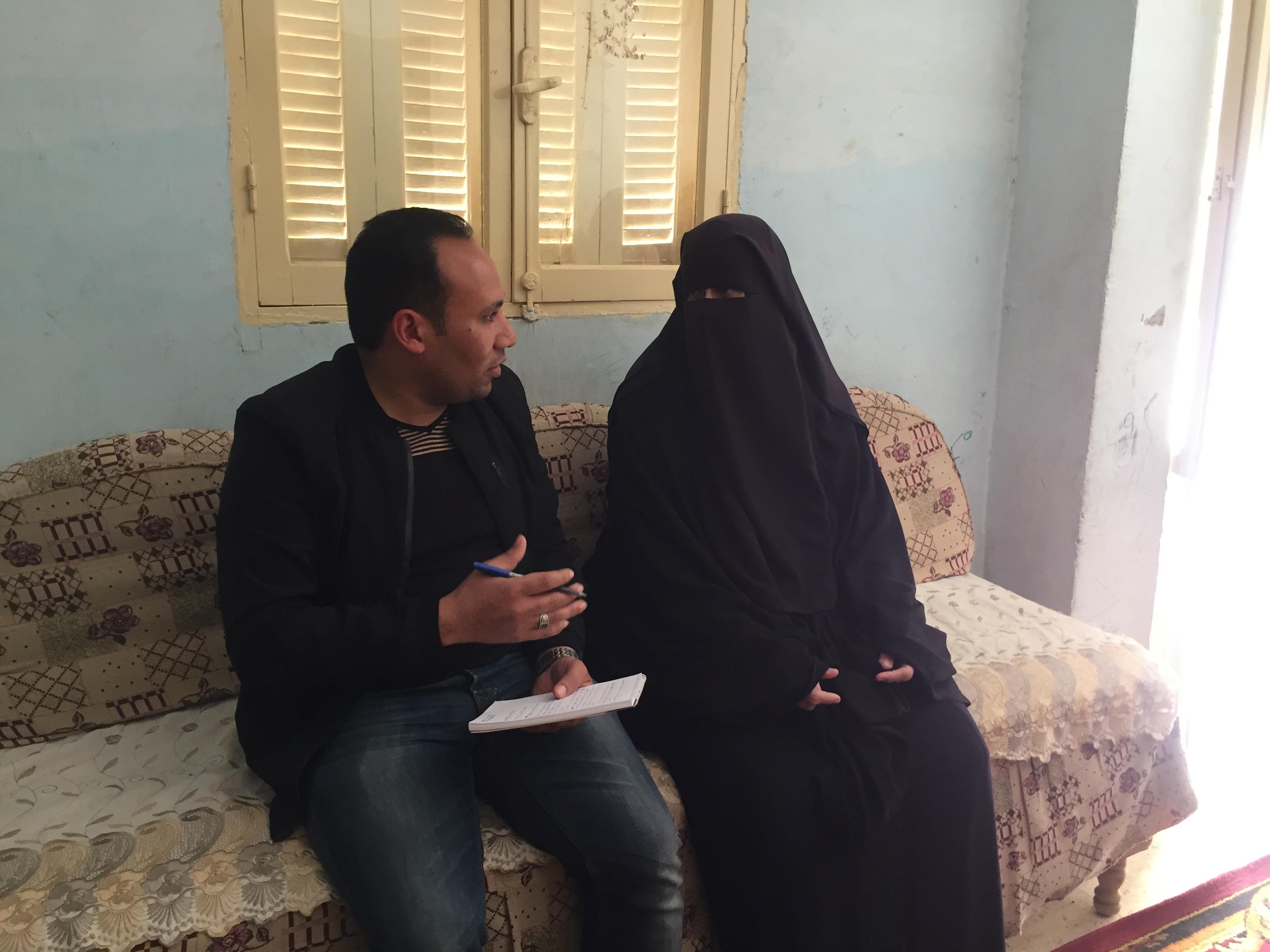 الحاجة حنان حسن  مسلم حسن، الفائزة بالأم المثالية على مستوى محافظة الإسماعيلية (2)