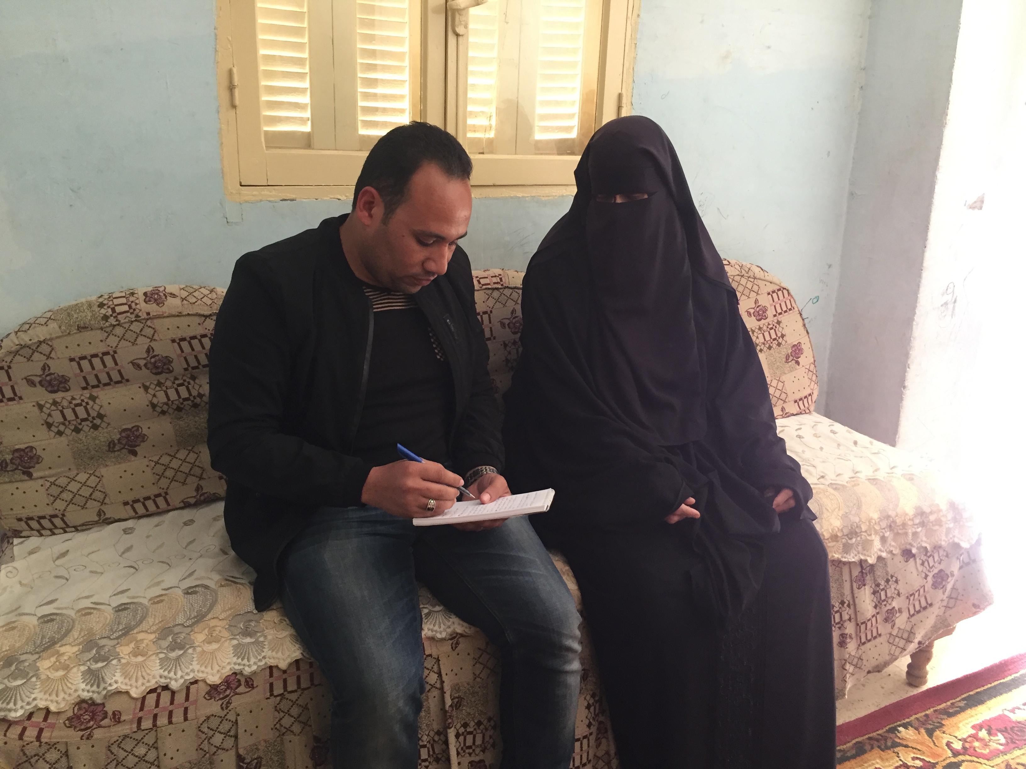 الحاجة حنان حسن  مسلم حسن، الفائزة بالأم المثالية على مستوى محافظة الإسماعيلية (4)