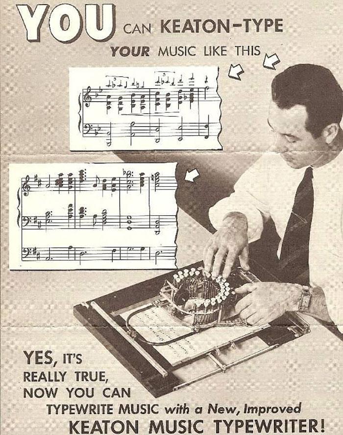 آلة كاتبة للنوتة الموسيقية  (3)