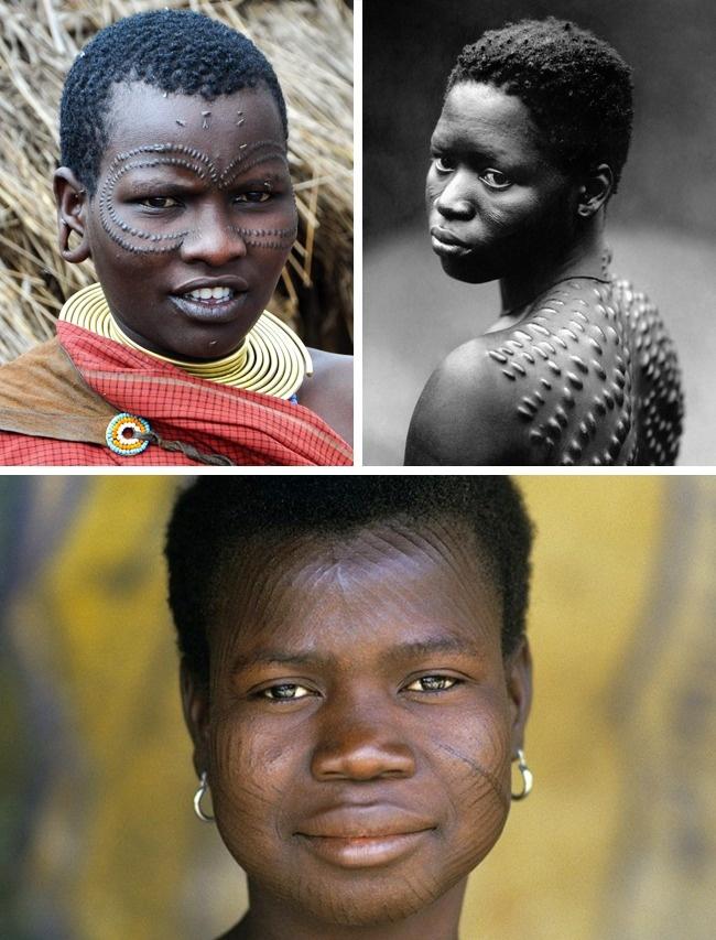 ندوبات الوجه فى غينيا