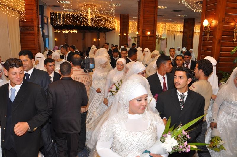 الأورمان  تدعم زواج عدد 10 فتيات يتيمات بمحافظة الغربية   (2)