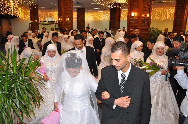 الأورمان  تدعم زواج عدد 10 فتيات يتيمات بمحافظة الغربية   (1)