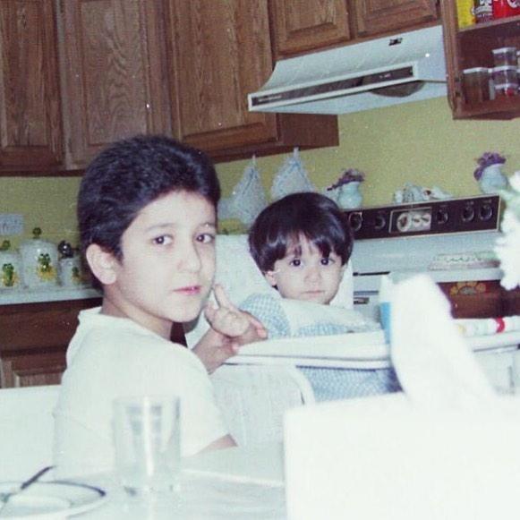 أسيل عمران فى طفولتها