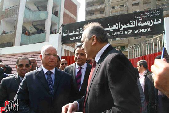 وزيرة الصحة تطلق حملة القضاء على الديدان  (17)