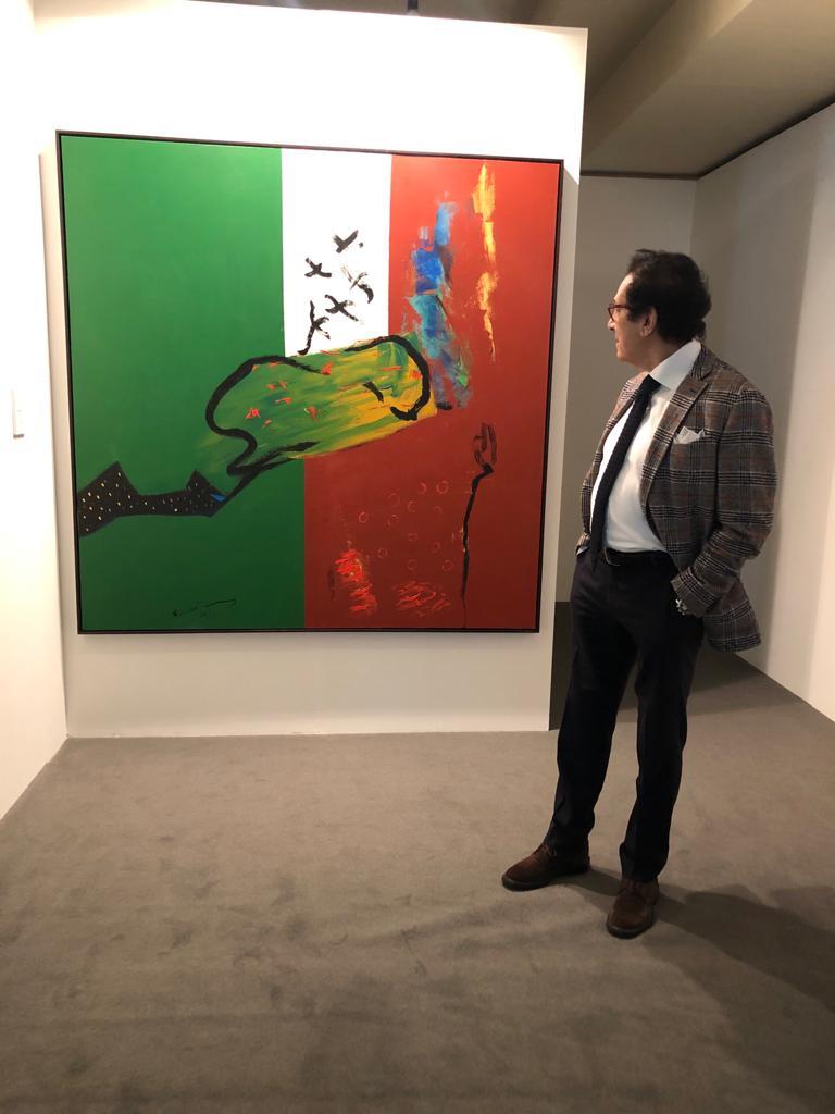لوحة فاروق حسني المهداة للإمارات (3)