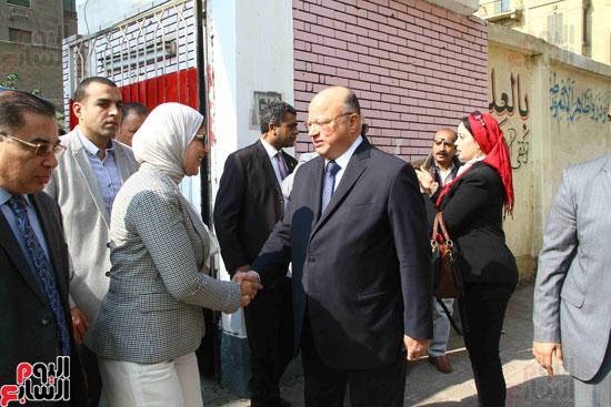 وزيرة الصحة تطلق حملة القضاء على الديدان  (16)