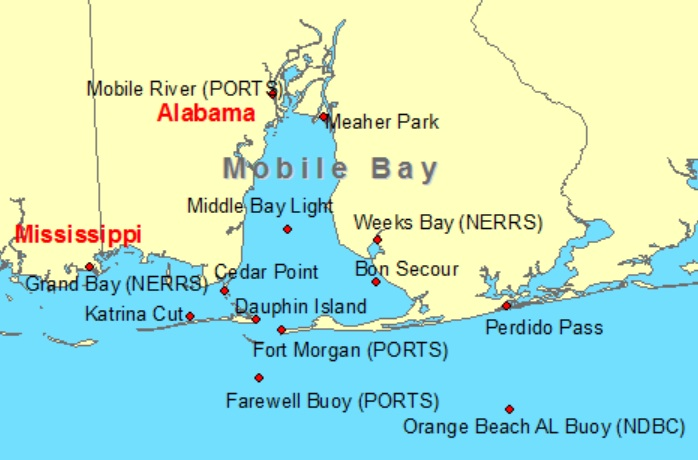 خليج موبايل ألاباما