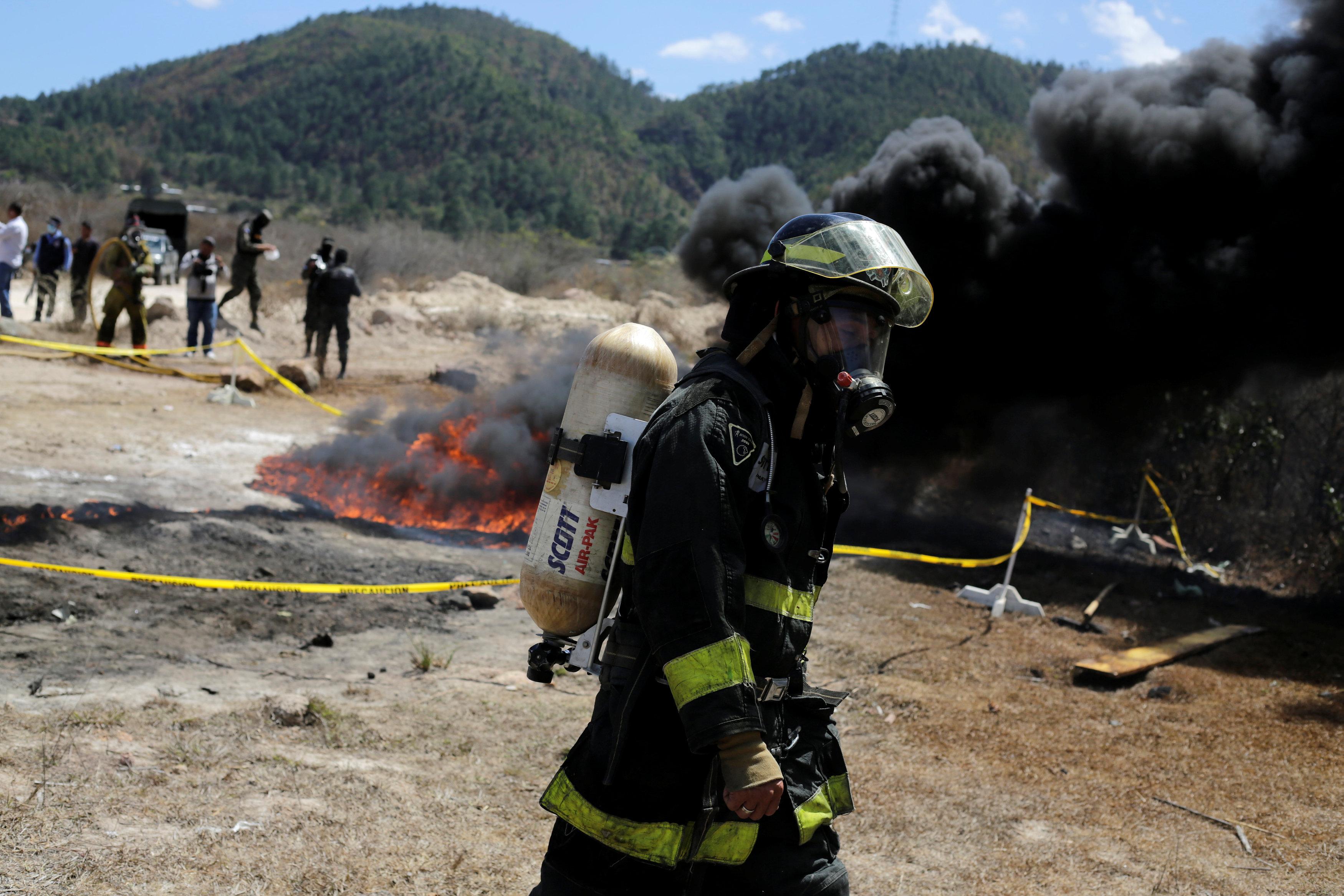تدمير المخدرات فى هندوراس (3)