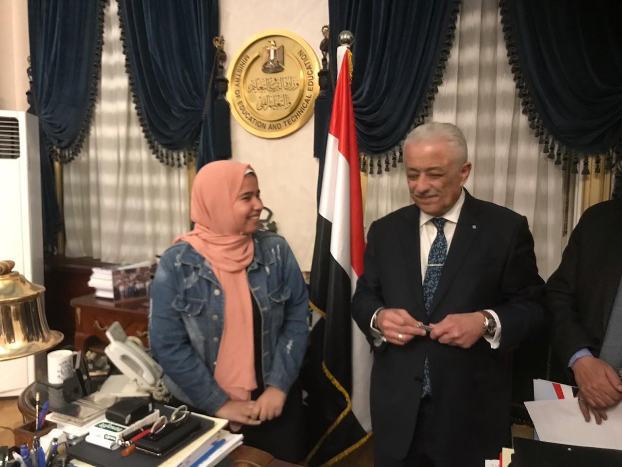طارق شوقى وزير التربية والتعليم (2)