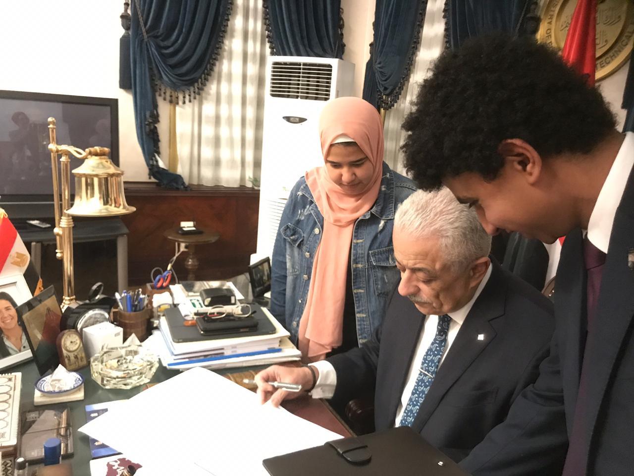 طارق شوقى وزير التربية والتعليم (4)