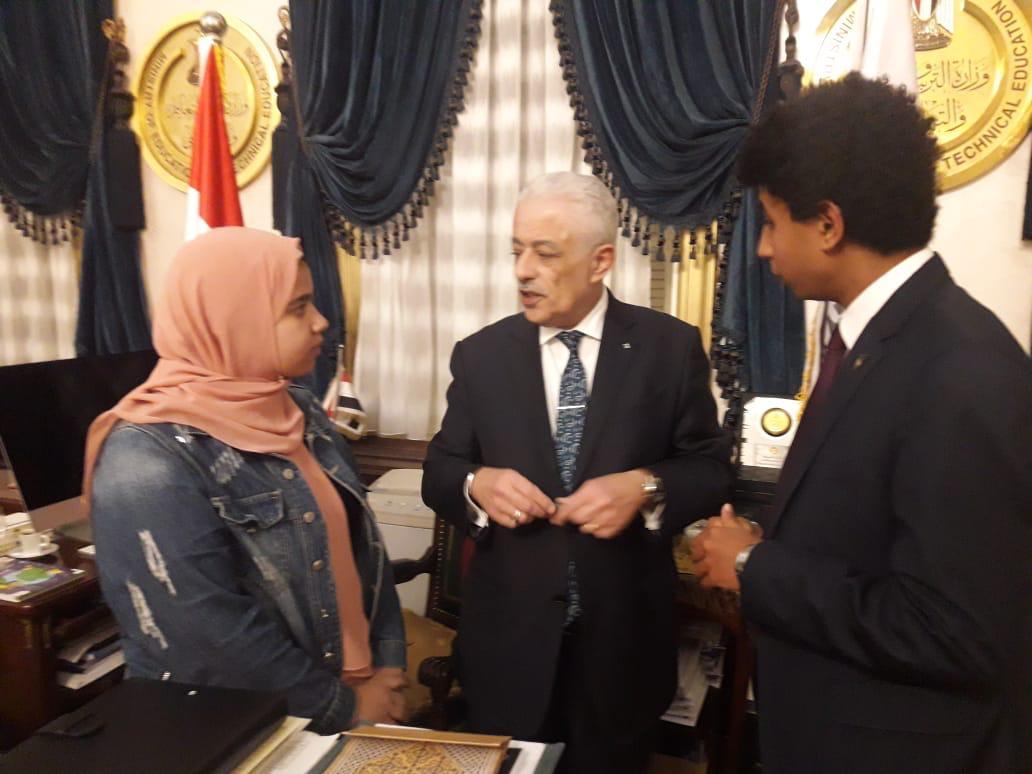 طارق شوقى وزير التربية والتعليم (1)