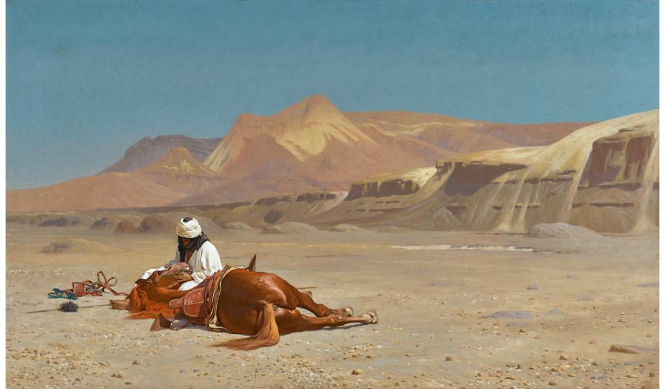 لوحة الصحراء