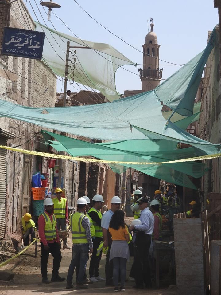 رئيس مدينة إسنا مشروع إعادة إكتشاف أصول المدينة التراثية (2)
