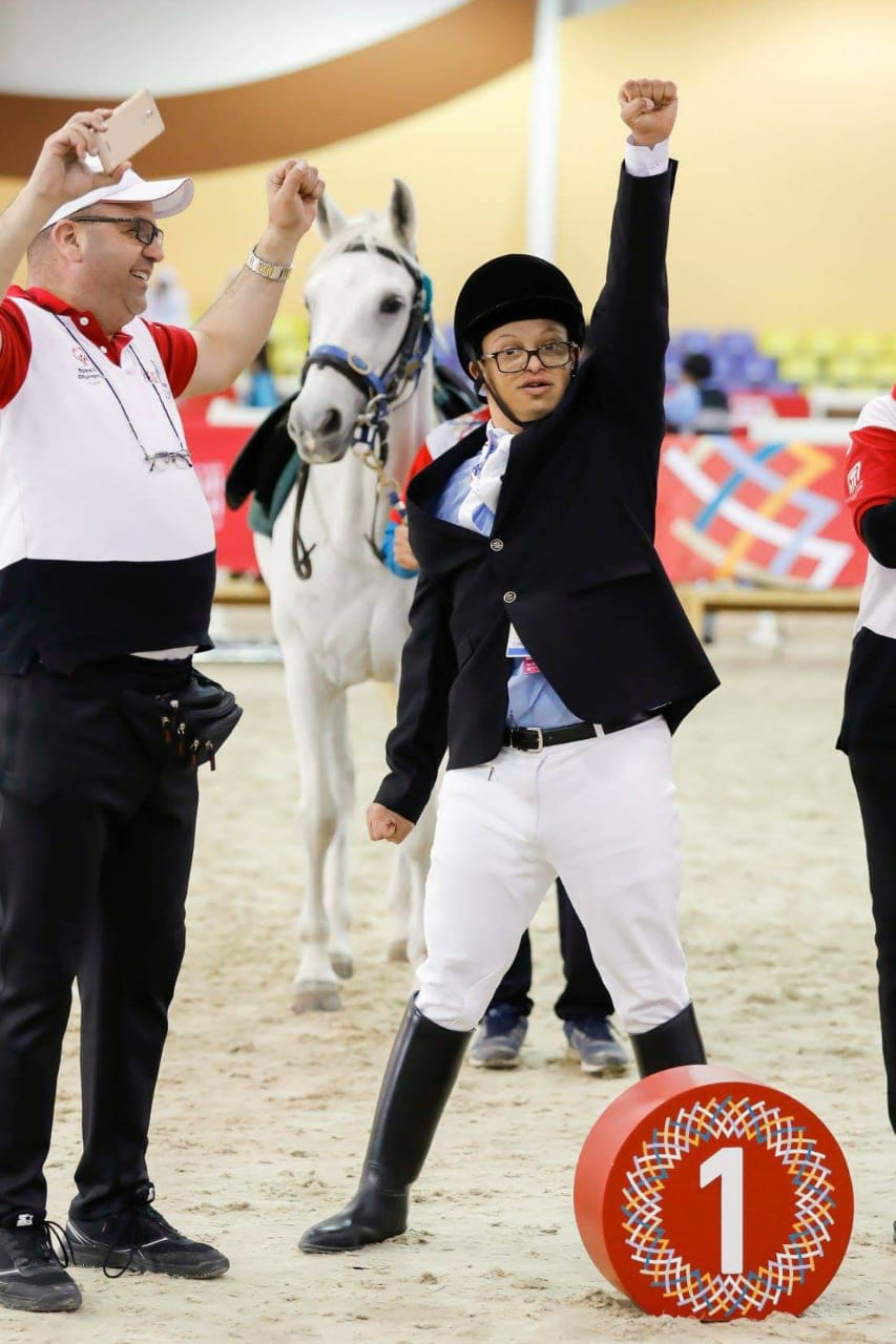 ابطال الأولمبياد الخاص