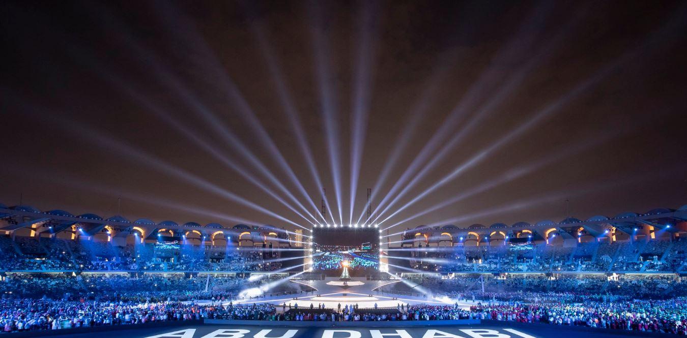 الحفل الختامى للأولمبياد الخاص