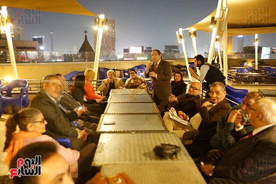 الصحفيون يحتفلون بزواج حسين قدرى (12)