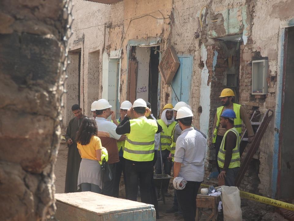 رئيس مدينة إسنا مشروع إعادة إكتشاف أصول المدينة التراثية (3)
