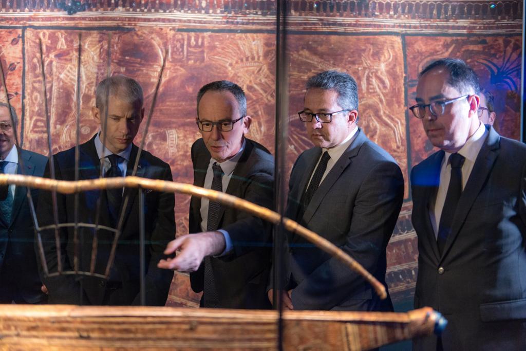 خلال افتتاح معرض توت عنخ آمون (10)