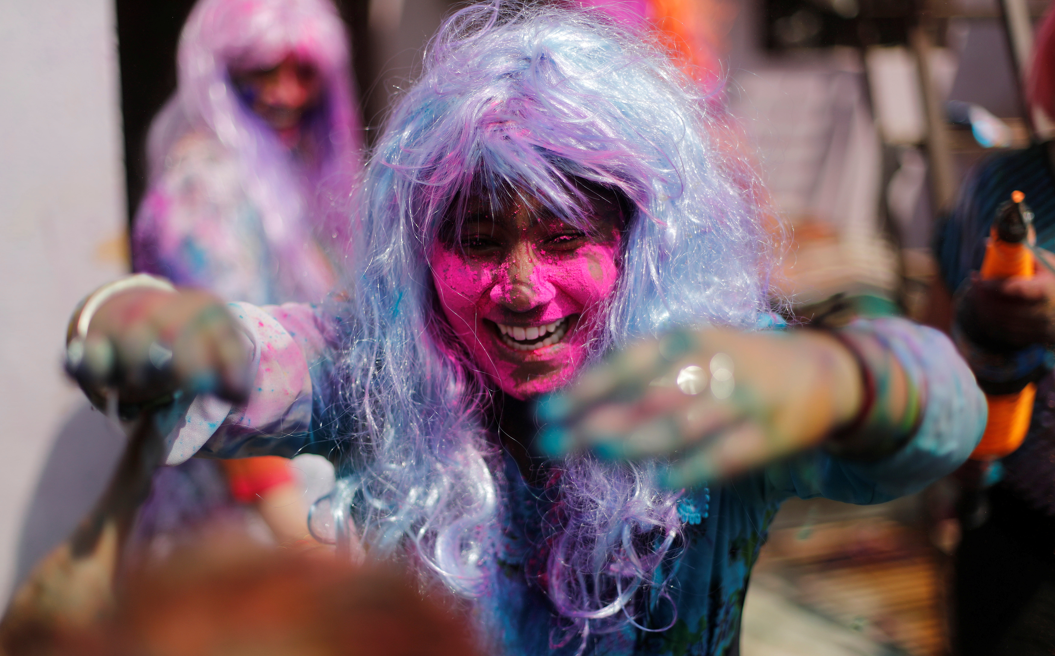 مهرجان الألوان المبهجة فى الهند احتفالا بقدوم فصل الربيع (12)