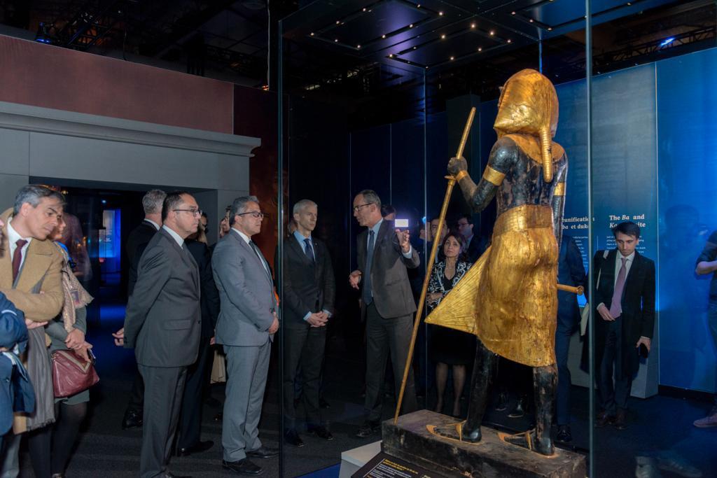 خلال افتتاح معرض توت عنخ آمون (7)