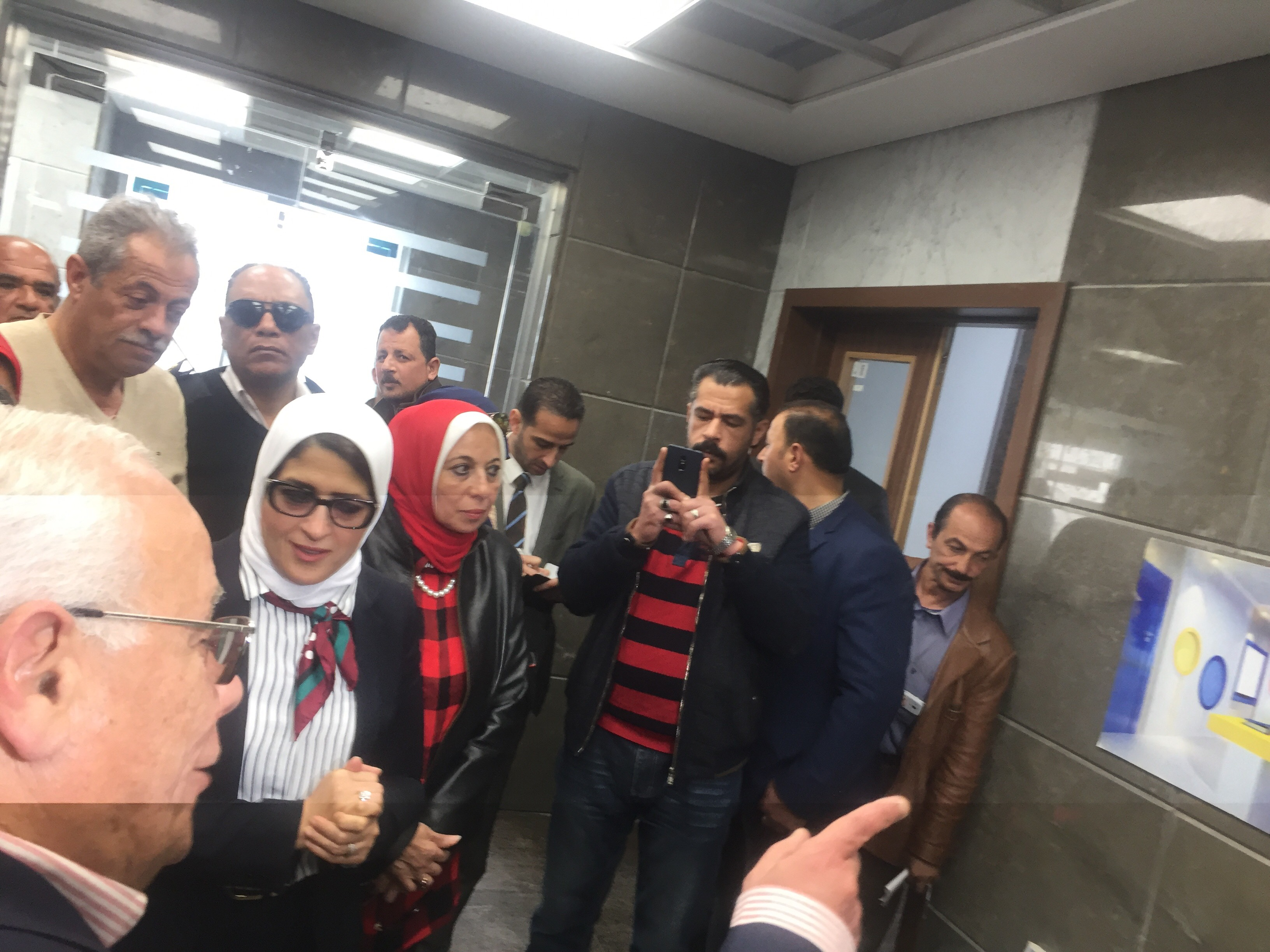 وزيرة الصحة تتفقد مستشفى أطفال النصر (3)